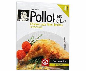 Carmencita Mezcla de Especias para Pollo a las Finas Hierbas Sobre 15 Gramos