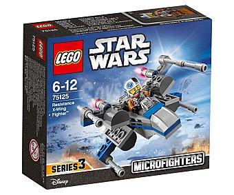 LEGO Juego de construcciones con 87 piezas Nave Resistance x-wing Fighter, ref. 75125, incluye 1 figura Microfighters Star Wars episodio VII 1 unidad
