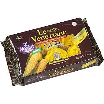 SANTIVERI NOGLUT Le Veneziane Pasta fettucce con harina de maíz sin gluten Envase 250 g