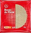 Bases pizza 4 unidades Condis