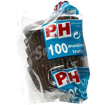 P & H Molde para trufas Nº 3 100 uds