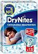 Calzoncillos absorventes niño 8-15 años Paquete 13 uds DryNites