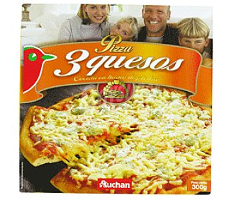 Auchan Pizza 3 Quesos 300g