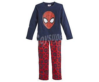 Spiderman Marvel Pijama largo de niño micropolar talla 8.
