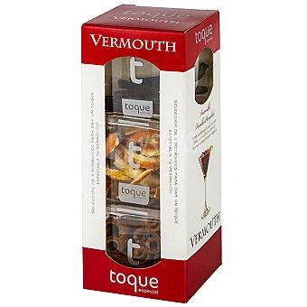 Toque Especias para cócteles selección de 3 botánicos para Vermouth Estuche 40 g