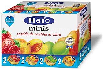 Hero Confituras surtidas Estuche 8 unds. 25 g