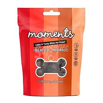 Moments Grain free snacks semihúmedos para perros ibérico Envase 60 g