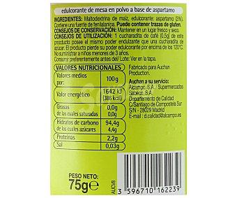 Productos Económicos Alcampo Edulcorante 75 gramos