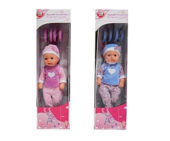 Rik&Rok Auchan Muñeco Bebé con carrito 1 Unidad