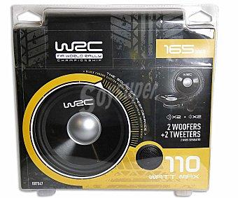 WRC Lote de 2 Altavoces 2 vías 1 Unidad