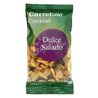 Carrefour Cocktail de frutos secos salado y dulce 125 g