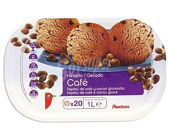 Auchan Tarrina de helado de café 1 l