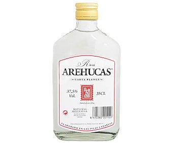 Arehucas Ron blanco elaborado en las Islas Canarias carta blanca 35 cl