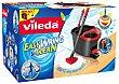 Set cubo, fregona y pedal easy wring & clean Caja 1 unidad  Vileda