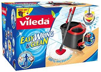 Vileda Set cubo, fregona y pedal easy wring & clean Caja 1 unidad
