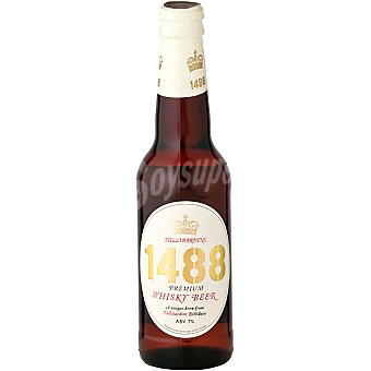 Tullibardine 1488 Whisky Beer cerveza escocesa Botella de 33 cl