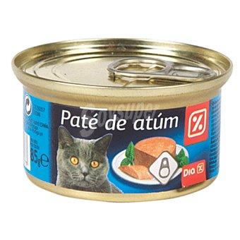 DIA Alimento para gatos pate atun Lata 85g