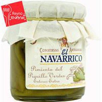 El Navarrico Pimiento de piquillo verde extra Frasco 175 g