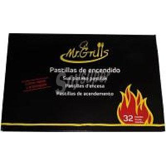 Eroski Pastilla de encendido Caja 32 uds