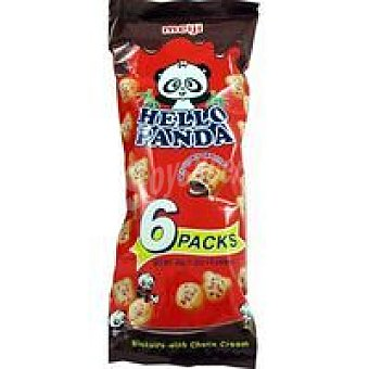 CHURRUCA Hello Panda Galleta rellena de chocolate Caja 210 g