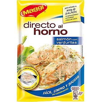 Maggi Condimento para asar salmón con verduritas Directo al horno Envase 36 g