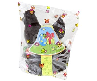 Productos Económicos Alcampo Gallina Chocolate Negro + 9 Huevos Praliné 250g