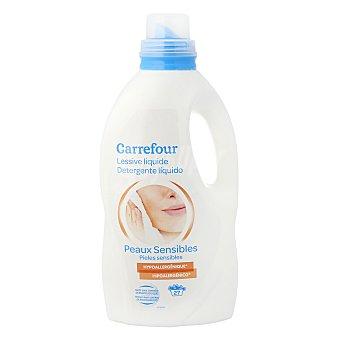 Carrefour Detergente liquido piel sensible 2 l. 20 lavados