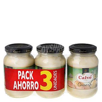 Casera Mayonesa Calvé Pack de 3 tarros de 225 ml