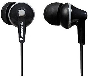 Panasonic RP-HJE125E-K - Auriculares in-ear, negro