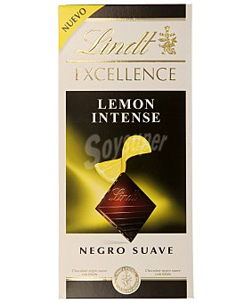 Lindt Chocolate negro (47% cacao) con limón 100 gramos