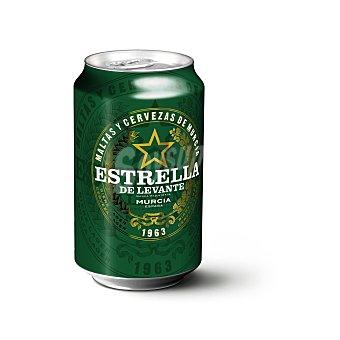 Estrella Levante Cerveza rubia Lata de 33 cl