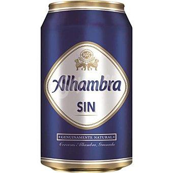 Alhambra Cerveza sin alcohol Lata 33 cl