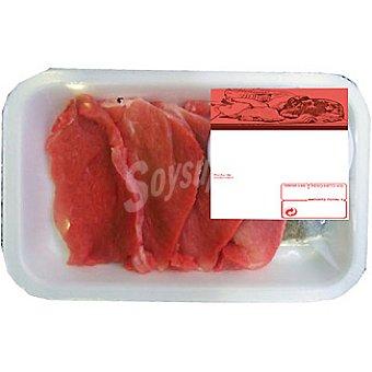 Presas frescas de cerdo peso aproximado Bandeja 250 g