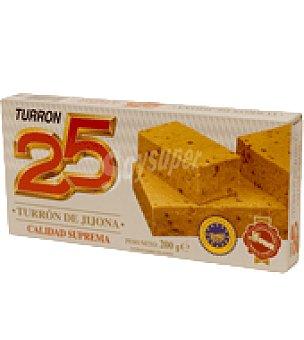 25 Turrón de Jijona 200 g