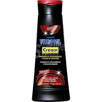 FOREN Vitrogel Cream limpiador de vitrocerámicas y placas de inducción perfumado  botella 400 ml