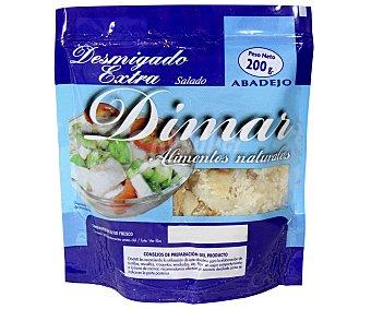 Dimar Desmigado de abadejo salado 200 gramos