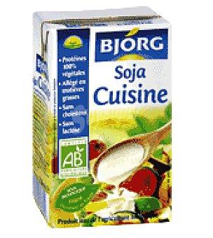 Bjorg Soja para cocinar 25 cl 250 ml