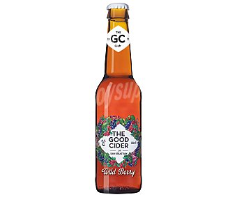 THE GOOD CIDER Sidra con zumo de frutos de bosque Botella 33 cl