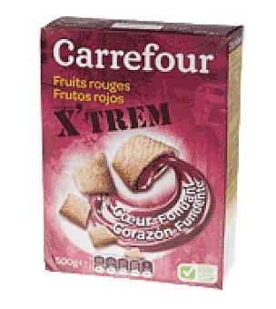 Carrefour Cereales rellenos frutos rojos 500 g