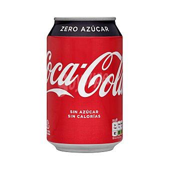 Coca-Cola Zero Refresco de cola zero Lata 33 cl