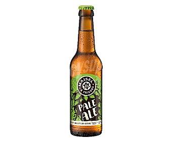 MAISEL&FRIENDS Cerveza light rubia, fresca y con un sabor afrutado pale ALE Botella 33 cl
