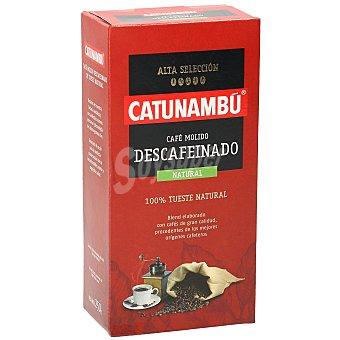 Catunambu Café molido natural descafeinado Paquete 250 g