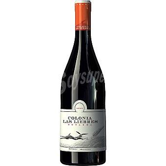 Colonia las liebres Vino tinto Bonarda Mendoza Argentina Botella 75 cl