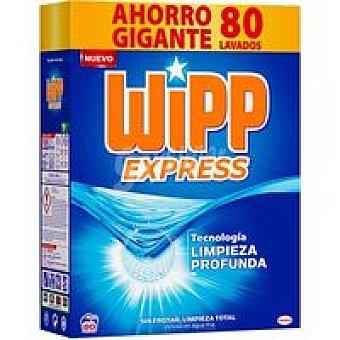 Wipp Express Detergente en polvo Maleta 80 dosis