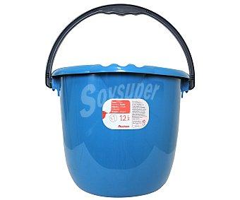Auchan Cubo de agua redondo Azul 12 Litros 1 Unidad