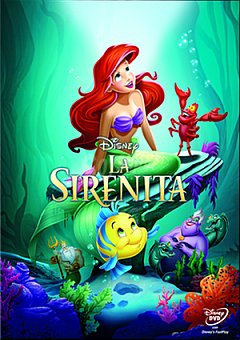 Disney La Sirenita DVD 1 ud