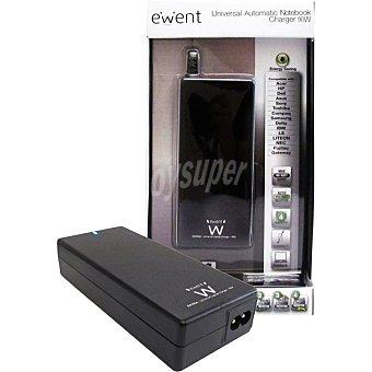 EWENT Cargador Automático 90 W en color negro