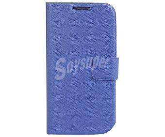 AUCHAN Funda con tapa azul para Samsung Galaxy S3 1 unidad