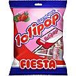 Lolipop caramelos blandos con palo  bolsa 7 unidades Fiesta