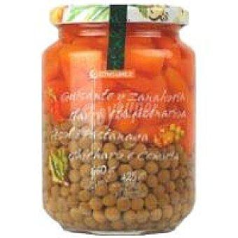 Eroski Guisante-zanahoria Frasco 425 g